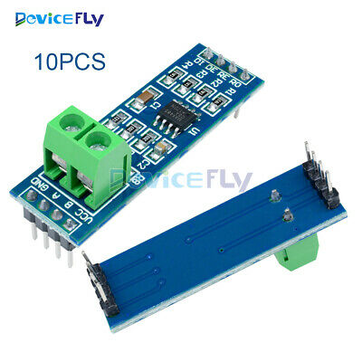 10PCS MAX485 RS-485 TTL to RS485 MAX485CSA Module Converter For Arduino