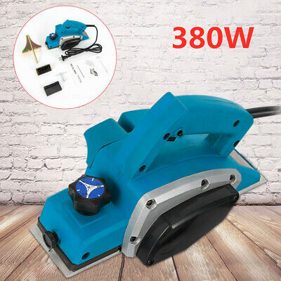 VOCHE® 710W ELECTRIC POWER PLANER WOOD PLANE WITH PARALLEL GUIDE /& DUST BAG