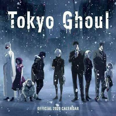 Calendar Tokyo Ghoul Official Square 2020 Fantasy Manga Anime Wall Decoration
