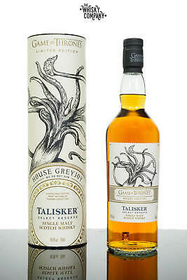 Game of Thrones House Greyjoy Talisker Select Reserve Single Malt Collection ...