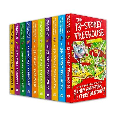 The 13-Storey Treehouse Collection - 8 Books