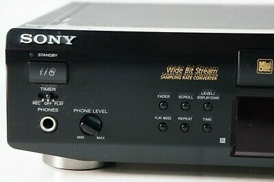 Sony MDS-JE520 Mini Disc Player Recorder gecheckt MD Recorder