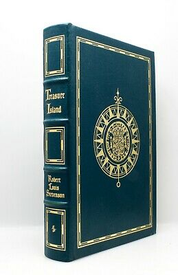 Easton Press Leather Book Treasure Island Robert Louis Stevenson