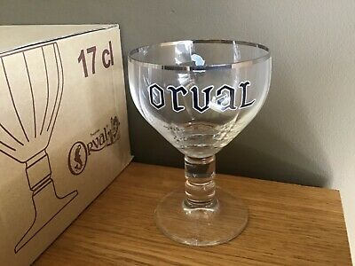 Verre galopin Orval 17cl neuf (plusieurs disponibles)