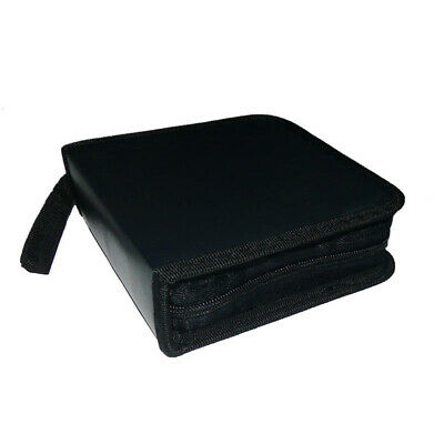 BL_ 40 Disc Double-side CD DVD Storage Case Organizer Holder Hard Wallet Album B