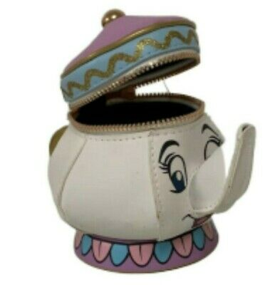 Mrs.Potts Coin Purse Disney Chip Cup Official Wallet New  Primark