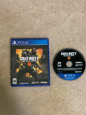 Call of Duty Black Ops 4  (Sony PlayStation 4 PS4)