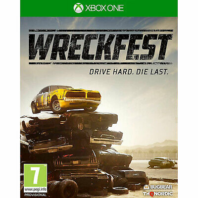 Wreckfest XBOX ONE New and Sealed