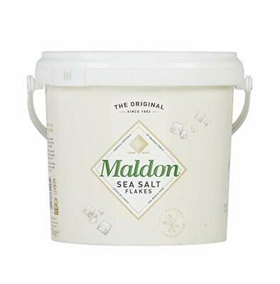 Maldon Organic Sea Salt Flakes  1.4KG bucket