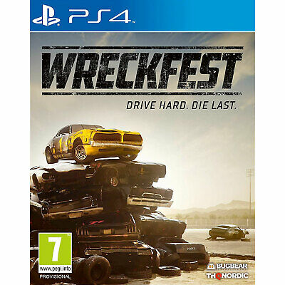 Wreckfest PS4 New and Sealed