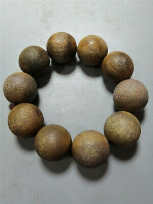 """3.94"""" Collection Chinese Exquisite Ox horn Hand-made Ox horn beads Bracelet"""