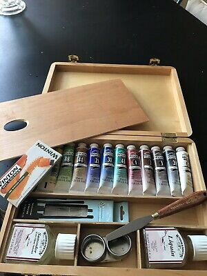 Winsor And Newton Oil Paint Set