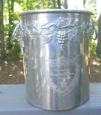 RARE French Ice Bucket Cuvee Dom Perignon Moet Chandon Champagne