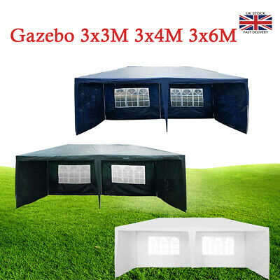 3x6m Outdoor Tent Gazebo Waterproof Garden Party Marquee Canopy Camping