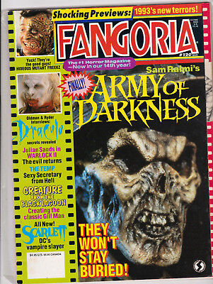 FANGORIA #120 - NM - DRACULA - Creature from the Black Lagoon - Army of Darkness