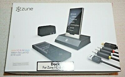 Genuine Microsoft G7D-00001 Zune HD AV Dock for Zune Mp3 Player  NOB