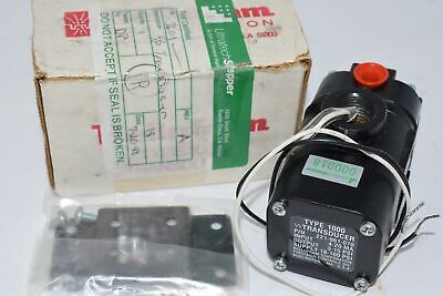 NEW Bellofram 221-961-070-000 Type 1000 CURRENT PRESSURE TRANSDUCER 4-20MA 18-10