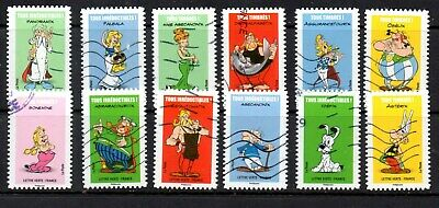 *New*  France - French - 2019 - Asterix - Full Set Of 12 Stamps