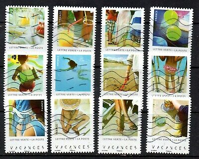 *New*  France - French - 2019 - Holidays - Full Set Of 12 Stamps