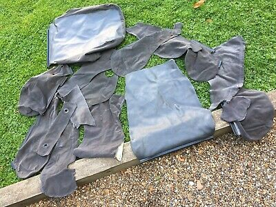 Ford Escort rs turbo series 1 Seat Cover Pieces Bolster Head Rest