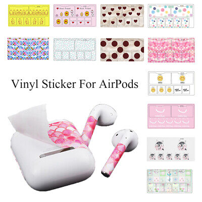 Decal Vinyl Sticker Protective Cover Skin Scratch Proof Films For Apple AirPods