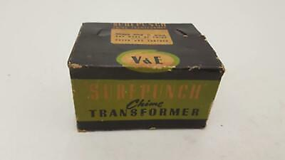 Vintage V&E Superpunch Chime Transformer Warbler & Big Ben Chimes 20168