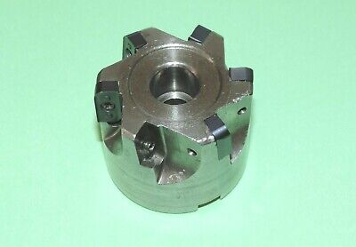 """K-Tool 2"""" Indexable Multi-Radius Shell Mill w/ Inserts (RM-2000)"""
