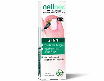 Nailner 2 In 1 Brush Against Fungal Nail Infection - 5ml NEW