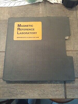 "Magnetic Reference Laboratory Reproducer Calibration Tape 1/2"" Tape 15IPS 31J119"