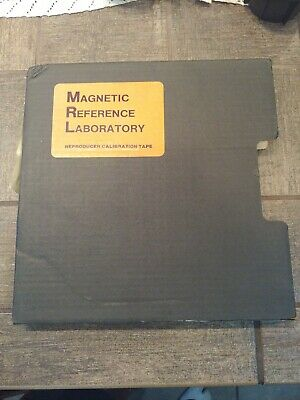"Magnetic Reference Laboratory Reproducer Calibration Tape 1/2"" 7.5IPS 31T118"