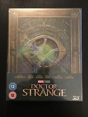Doctor Strange 3D Steelbook UK Exclusive Limited Edition Blu-Ray w Spine Magnet