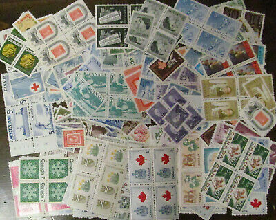 Canada many stamps.Half MNH and Half MH.Face 22.00$.