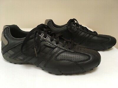 Brand Shoes GEOX U Snake K U4207K 00043 C9999 Black Men's