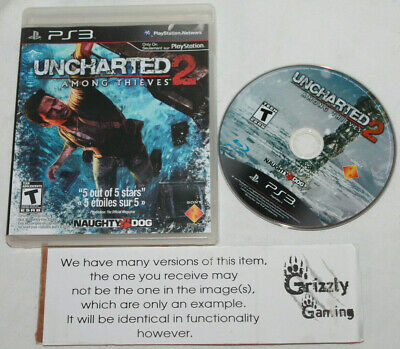 USED Uncharted 2: Among Thieves Sony PS3 (NTSC) -Canadian Seller-