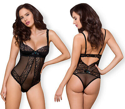 OBSESSIVE 867 Luxury Super Soft Decorative Sheer Underwired Padded Body / Teddy