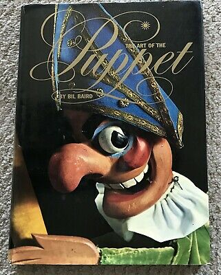 The Art Of The Puppet Bill Baird History Hc Dj 1973 First Ed. Bonanza Books Vf