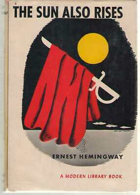 The Sun Also Rises by Ernest Hemingway - Modern Library 170.1 Hardback in DJ