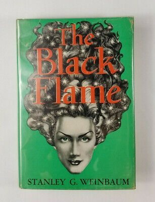 Numbered 1st Ed 1/500 The Black Flame by Stanley Weinbaum 1948 Fantasy Press