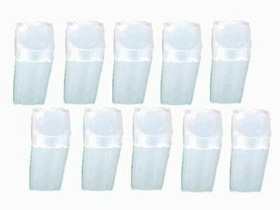 10 x AUSTRALIAN $2 Coin Roll Tube Storage NUMIS BRAND - Snap Lock Lid, PVC Free