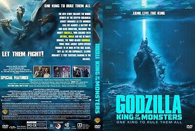 Godzilla King Of The Monsters(2019) DVD FAST SHIPPING!!! READ DESCRIPTION