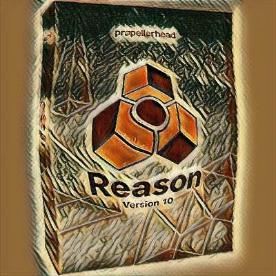PROPELLERHEAD REASON 10.4 Full software with rack extensions (non transferable)