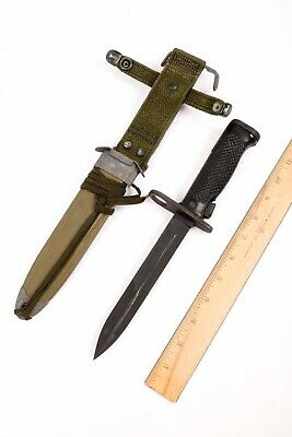 USGI Military Issue M6 Bayonet Minty