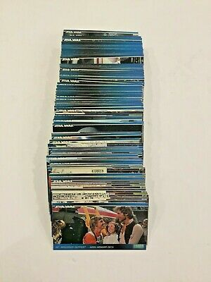 "4.5 "" Stack of Star Wars Widevision Topps 1994 Trading Cards"