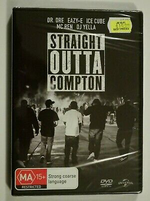 Straight Outta Compton DVD Feat Dr. Dre Ice Cube Eazy-E Mc Ren BRAND NEW