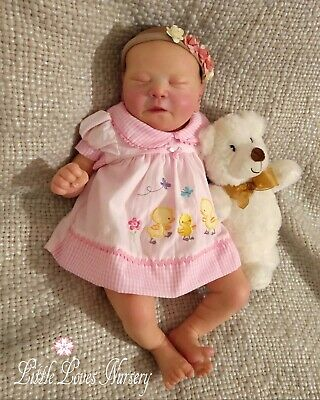 Adorable Reborn Baby Bellamy. Created From the Chase Kit ~ Little Loves Nursery