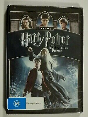 Harry Potter And The Half Blood Prince DVD Year Six Daniel Radcliffe BRAND NEW