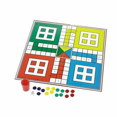1 x Ludo Snakes And Ladders Traditional Childrens & Family Board Game