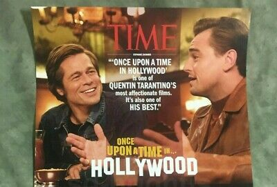 ONCE UPON A TIME IN HOLLYWOOD original special edition movie poster