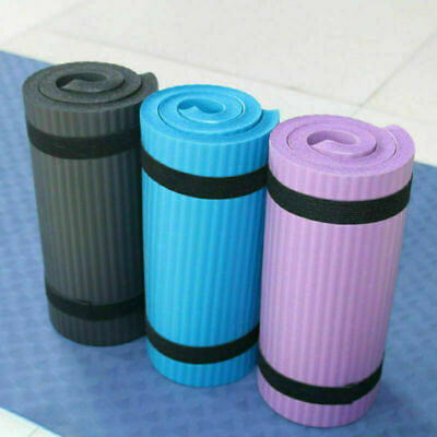 Yoga Pilates Mat Thick Exercise Gym Anti-slip Workout 15mm Fitness Auxiliary Mat