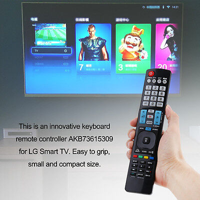 For LG TV AKB73615309 47LM6200 55LM7600 60LM6700 TP Remote Control Replacement
